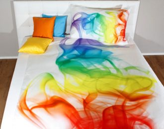 ALBA-ARCOBALENO Frequenz auf Bettwäsche